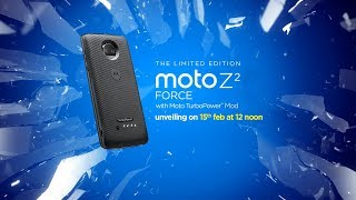 Limited Edition Moto Z2 Force with Moto TurboPower Mod | Launch Event