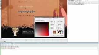 getlinkyoutube.com-Aegisub visual typesetting tutorial (GR) - AnimEarth Fansubs