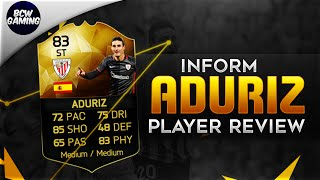 getlinkyoutube.com-Inform Aduriz (83) Player Review - W/ In Game Stats and Gameplay - FIFA16 Ultimate Team