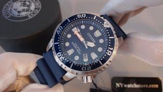 getlinkyoutube.com-Men's Citizen Eco Drive Promaster Professional Diver Watch BN0151-09L
