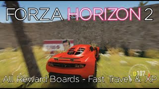 getlinkyoutube.com-Forza Horizon 2 - All Reward Boards Locations - XP & Fast Travel - Smash Happy Achievement Guide