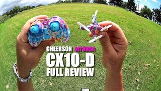 CHEERSON CX10-D NANO QuadCopter Full Review -  [UnBox, Inpection, Flight Test, Pros & Cons]