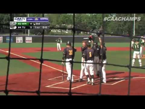 2013 Baseball #CAAChamps Game 7 -- #4 Towson 20, #2 William & Mary 13