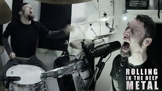 getlinkyoutube.com-Rolling In The Deep (metal cover by Leo Moracchioli)