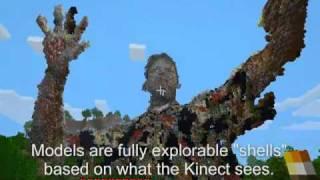 getlinkyoutube.com-Minecraft + Kinect : Building Worlds!