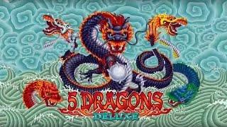 Wonder 4 Stars - 5 Dragons Deluxe Slot - BIG WIN Bonus!