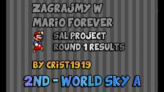 getlinkyoutube.com-Zagrajmy w Mario Forever Sal Project Round 1 Results by crist1919 (2nd - My World Sky A)
