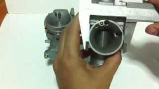 รีวิว คาร์บูเคเหลี่ยม VS คาร์บูเคกลม kawasaki KR150 (SQUARE) VS KR150 Carburetor
