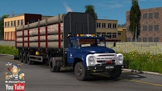 getlinkyoutube.com-[ETS2 v1.25] ZIL 130-131 + ALL DLC´s ready
