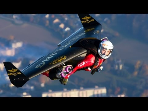 Fly with the Jetman | Yves Rossy