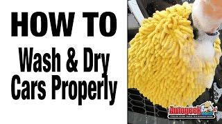How to do Proper Automotive Washing & Drying Techniques - Autogeek
