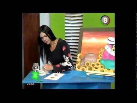Betina Ferrara - Pinceladas Básicas (Girasoles)