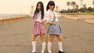 getlinkyoutube.com-AKB48 田野優花 愛川こずえ 踊ってみた 千本桜 & ルカルカナイトフィーバー Dance Cover
