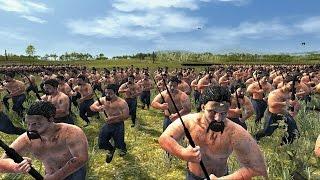 getlinkyoutube.com-5000 Crossbows vs 2000 Falxmen Attila Total War