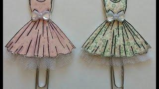getlinkyoutube.com-Dress Paper Clip Art -- Tutorial