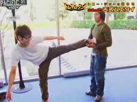 Tony Jaa Demonstration - Japan Tv