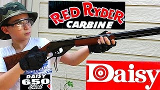 getlinkyoutube.com-Robert-Andre's Daisy Red Ryder BB Gun!