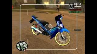 getlinkyoutube.com-Gta san ลอง Wave 125 i By Drew