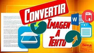 getlinkyoutube.com-Convertir Imagen a Texto [WORD, PDF, TXT] | Fácil y Sin Programas