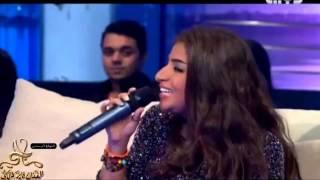 getlinkyoutube.com-بثينة الرئيسي تغني على بالي في برنامج فايز