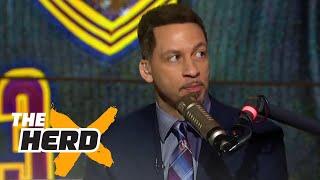 getlinkyoutube.com-Heat's collapse proves LeBron is better than Michael Jordan | THE HERD
