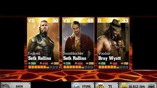 getlinkyoutube.com-WWE Immortals: Voodoo Bray Wyatt with Evolved & Swashbuckler Seth Rollins; a quick review