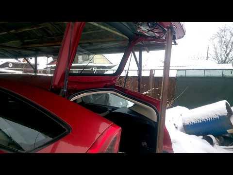 Упор газовый багажника ... c4 (телескопическая стойка двери багажника)