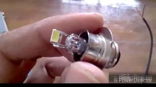 getlinkyoutube.com-bagaimana membuat BOHLAM menjadi Lampu LED mudah dan murah