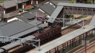 getlinkyoutube.com-Nゲージ・鉄道模型 KATO スハ44系 特急「つばめ」