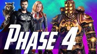 How Thor & Captain Marvel Set Up MCU Phase 4 & The Villain of Guardians of the Galaxy 3