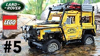 getlinkyoutube.com-VERY COOL LEGO Land Rover Defender Camel Trophy Experience with SBrick. Episode 5