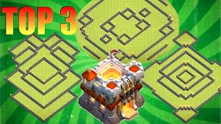 TOP 3 TOWN HALL 11 TROPHY BASES - BEST TH11 BASES IN THE WORLD w/Traps! Legendary Trophy/War Bases