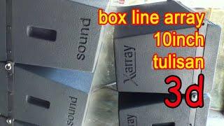 getlinkyoutube.com-buat tex 3d di box line array