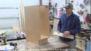 getlinkyoutube.com-How to Build Kitchen Cabinet Carcass