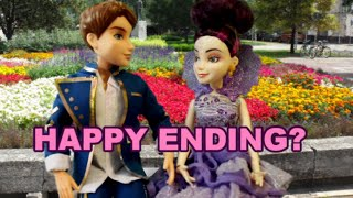 Disney DESCENDANTS FINALE! Do Ben and Mal get their HAPPY ENDING? Doll story parody