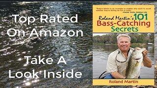 Bass Fishing Books-101 Bass Catching Secrets-Gifts For Fishermen