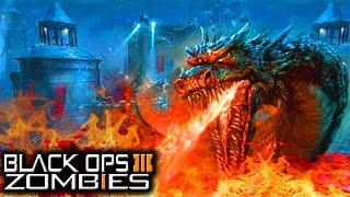 "getlinkyoutube.com-""Der Eisendrachen"" Possible WonderWeapon! Dragon Boss! (Black Ops 3 Zombies Awakening DLC #1 Map)"