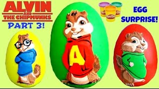 Alvin and the Chipmunk: The Road Chip PART 3 feat. ALVIN Play-doh Egg Surprise // TUYC