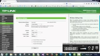 getlinkyoutube.com-تسريع الانترنت / الغاء المثلث الاصفر عن طريق اعدادات الراوتر. Speed Net By Setting Router