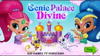 getlinkyoutube.com-Nick JR Shimmer and Shine Dress Up - Game for Kids - Shimmer and Shine Genie Palace Divine 2015 HD