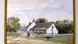 getlinkyoutube.com-Lets try a pen and wash with Alan