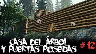 getlinkyoutube.com-Actualización THE FOREST 0.07 - #12 - Casa del árbol, más animales, puertas poseídas...