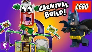 getlinkyoutube.com-JOKERLAND Lego Build! Batman Tricks Bad Guys + Pie SMASH Kit 76035 HobbyKidsTV