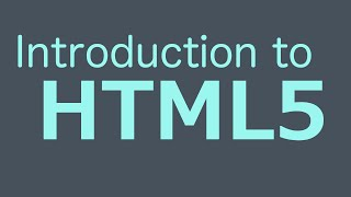 getlinkyoutube.com-Introduction To HTML5 - HTML Programming Tutorial
