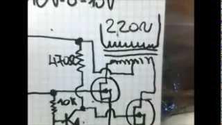 getlinkyoutube.com-Inverter 12V DC - 220V AC. Con Ne555!!!