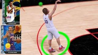 getlinkyoutube.com-DIAMOND STEVE NASH AND CURRY NOT MISSING 3's! NBA 2k16 MyTeam Gameplay