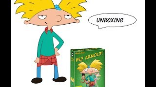 DVD - Hey Arnold! Komplett Box Unboxing