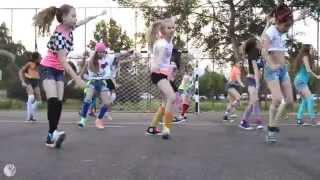 getlinkyoutube.com-Omi - Cheerleader Choreography / Firecrackers // AQUA