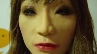 getlinkyoutube.com-a chinese guy become a beauty,just need a female silicone mask