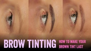 getlinkyoutube.com-Make brown eyebrow tinting last longer - Salon Secrets